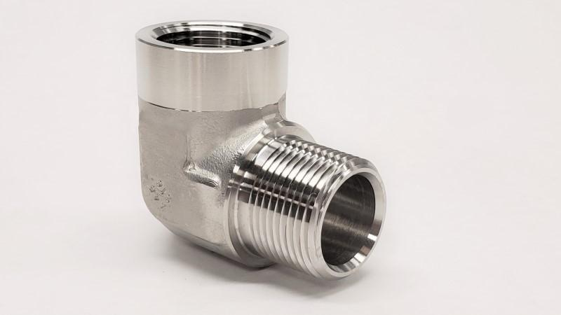 5502 - NPT 90° Street Elbow - 316SS - Jupiter Stainless & Alloy -  Buy Metals Online.