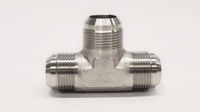 2603- 37° JIC Male Union Tee - 316SS - Jupiter Stainless & Alloy -  Buy Metals Online.