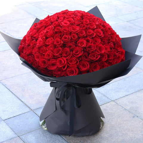 101 Luxury Red Rose Bouquet