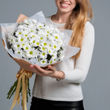 White Chrysanthemums Bouquet