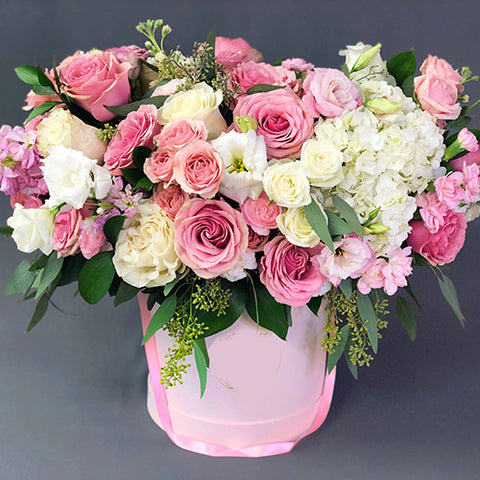 Box of Lavish Blooms