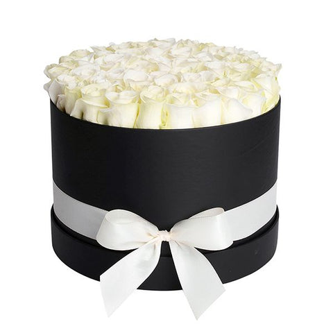 Box of White Roses