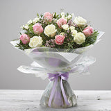 Exquisite Rose Hand Tied Bouquet