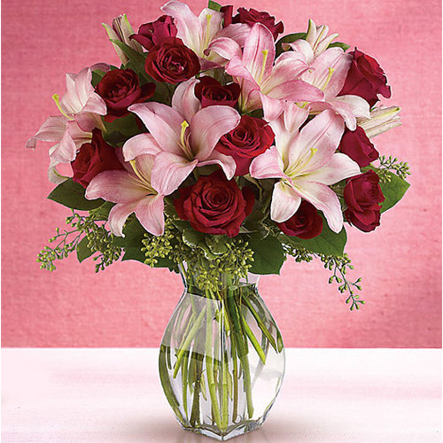 Lavish love Centerpiece Arrangement