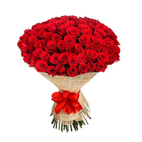 Signature Bouquet of Red Roses