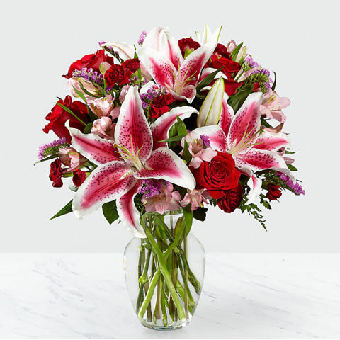 Sweet Lilies and Roses