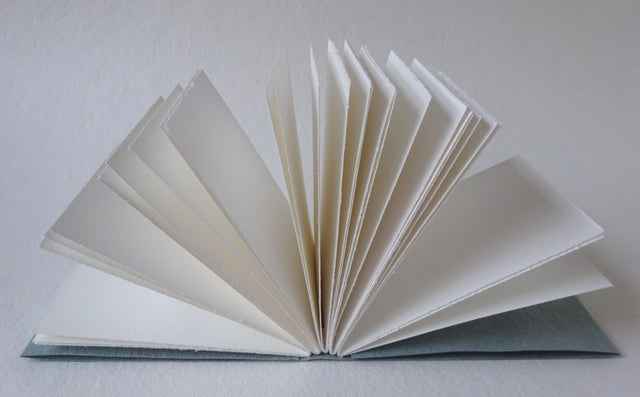 Perfect Bindings hand bound book open pages