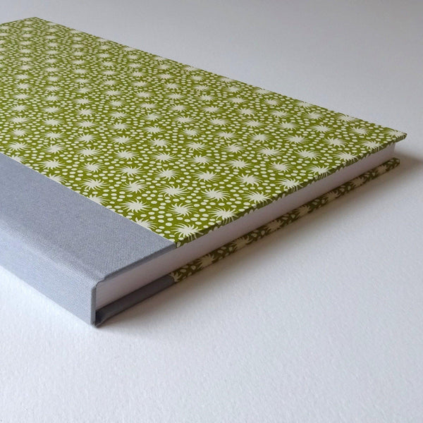perfect bindings large sketchbook with cambridge imprint pattern paper detail