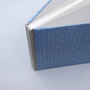 perfect bindings square sketchbook blue floral