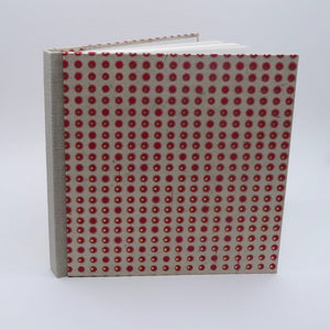 perfect bindings square sketchbook with red suns lotka paper standing