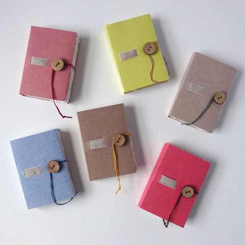 perfect bindings mini handmade paper books