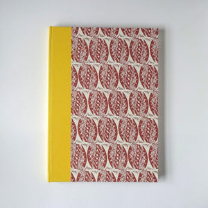 Large Sketchbook with Enid Marx Pattern Paper
