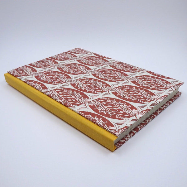 perfect bindings watercolour sketchbook with enid marx pattern paper
