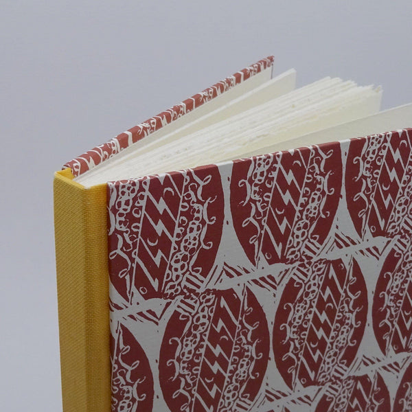 perfect bindings watercolour sketchbook with enid marx pattern paper top detail