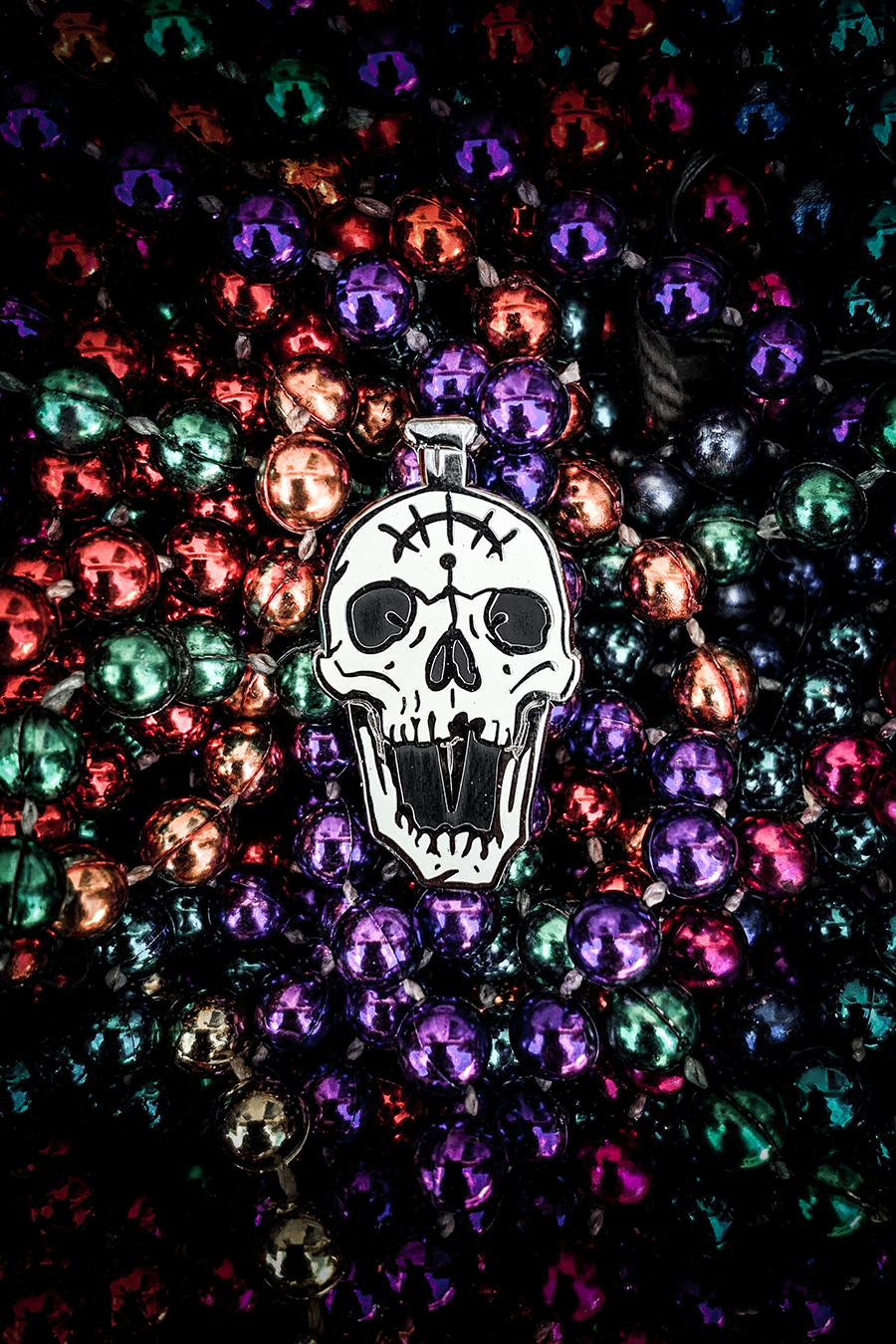 Saints Skull Pin
