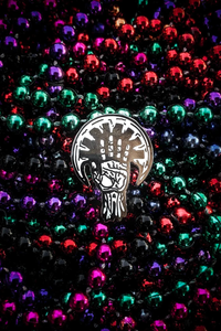 Saints Logo Pin
