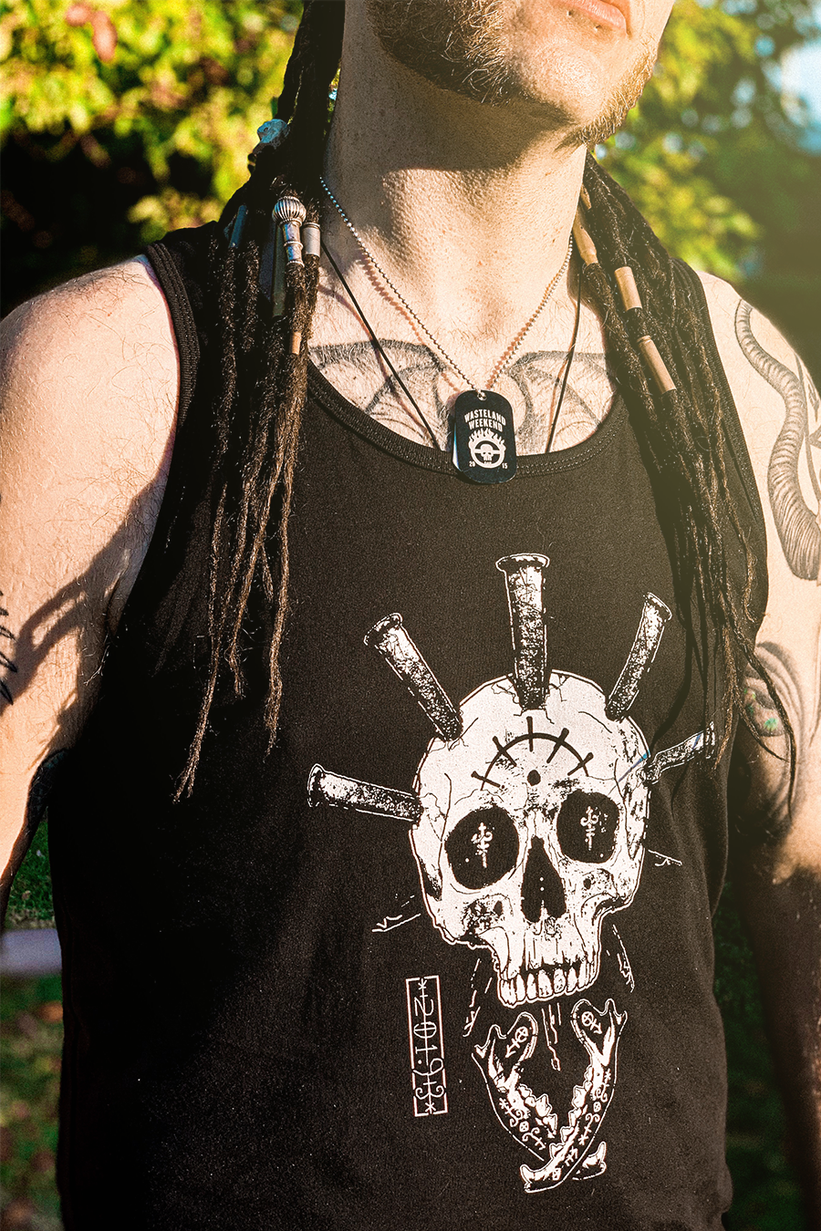 Saints Skull Tank Top
