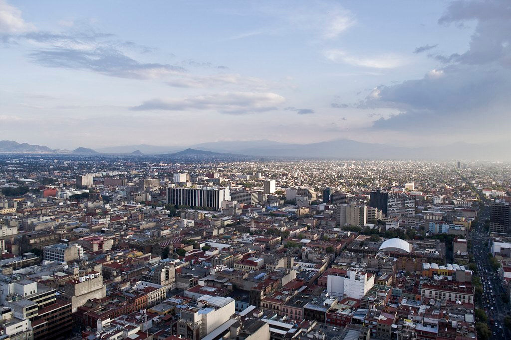 Mexico City Aerial View | Made In Mexico