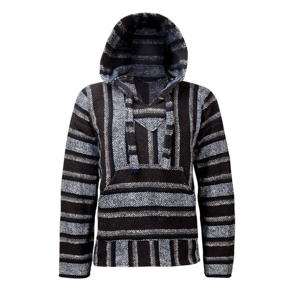 Baja Hoodie Brown | Mens & Womens | Drug Rug | MADEINMEXI.CO