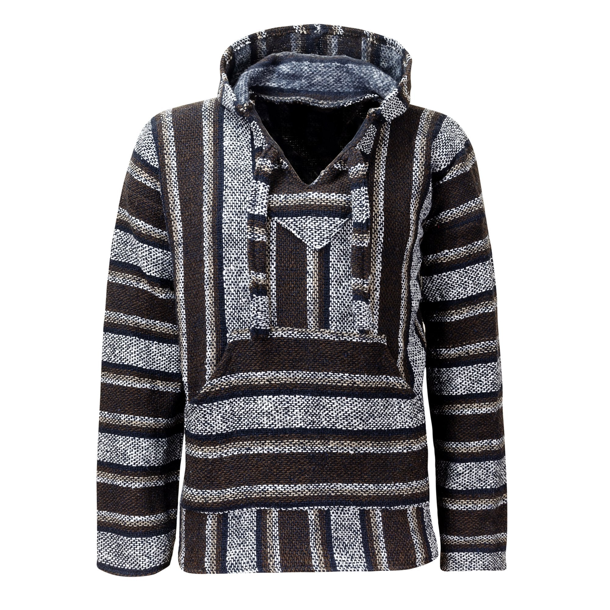 Baja Hoodie Brown Drug Rug - MadeInMexi.co