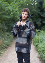 Load image into Gallery viewer, Mexican Baja Hoodie - Drug Rug Brown - MadeInMexi.co