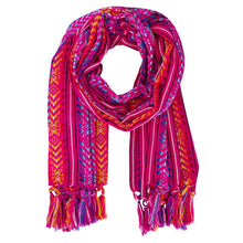 Load image into Gallery viewer, Rebozo Pashmina Pink - MadeInMexi.co