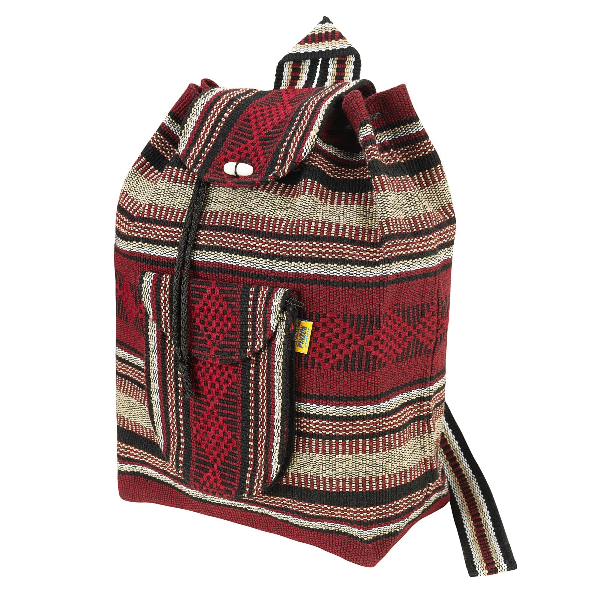 Pinzon Escolar Brown Canvas Backpack | MADEINMEXI.CO