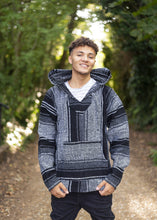 Load image into Gallery viewer, Mexican Baja Hoodie - Drug Rug Grey - MadeInMexi.co