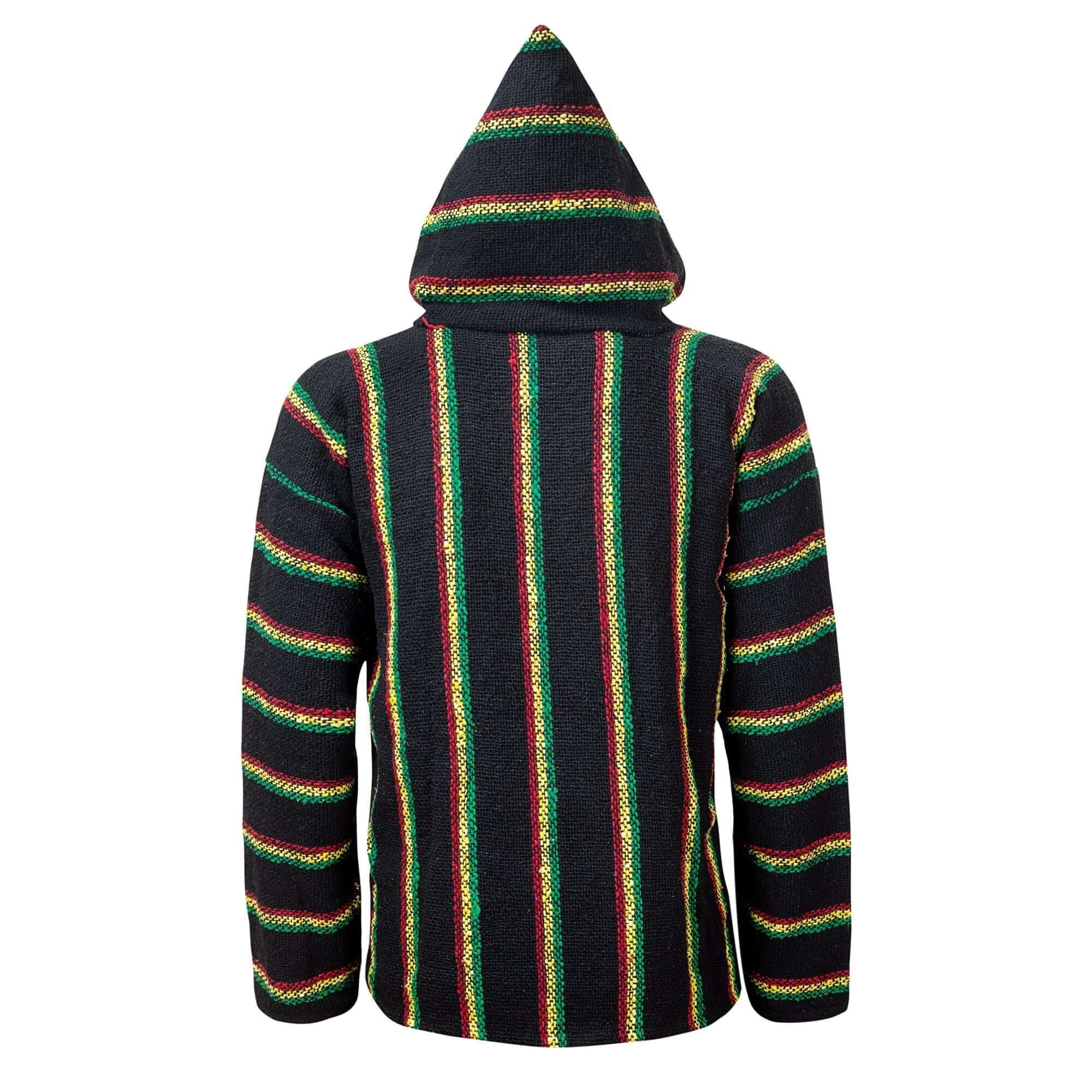 Baja Hoodie Rasta Drug Rug | Mens & Womens | MADEINMEXI.CO