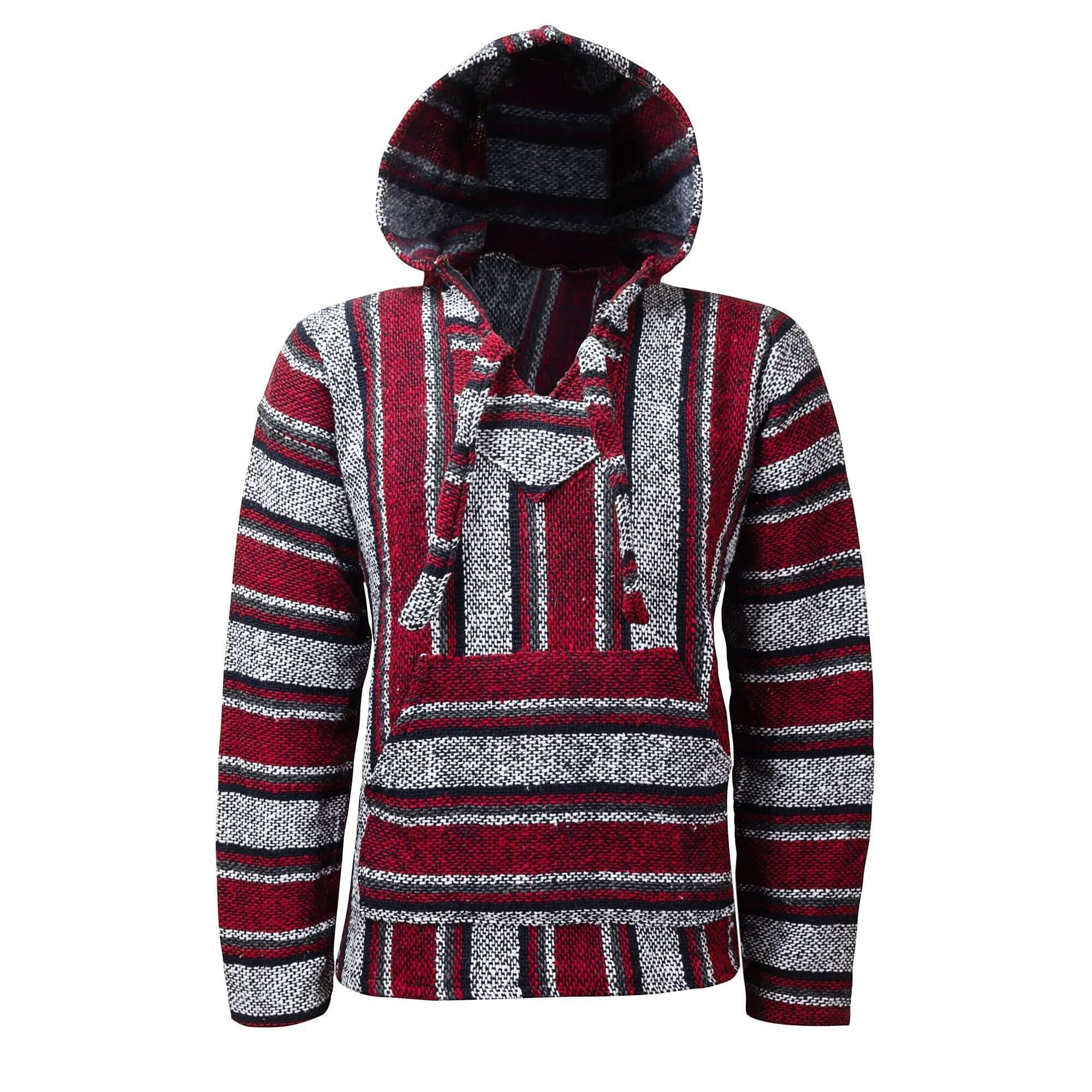Baja Hoodie Red Drug Rug | Mens & Womens | MADEINMEXI.CO
