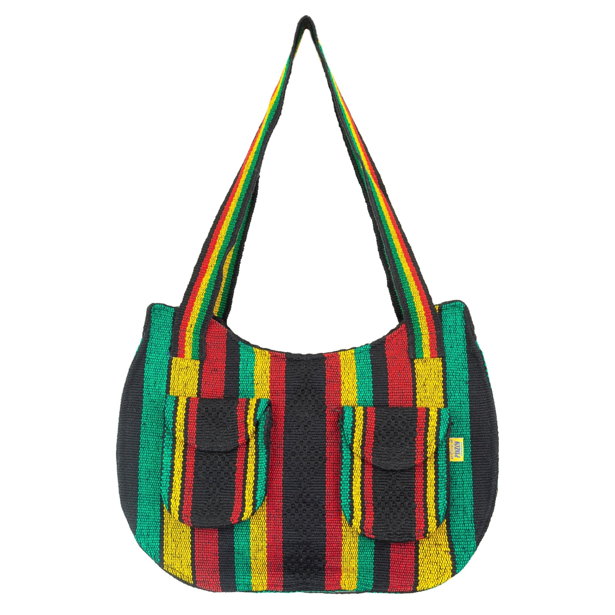 Boho Bag Rasta - MADEINMEXI.CO