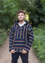 Load image into Gallery viewer, Baja Hoodie Rasta | Mens & Womens | Drug Rug | MADEINMEXI.CO