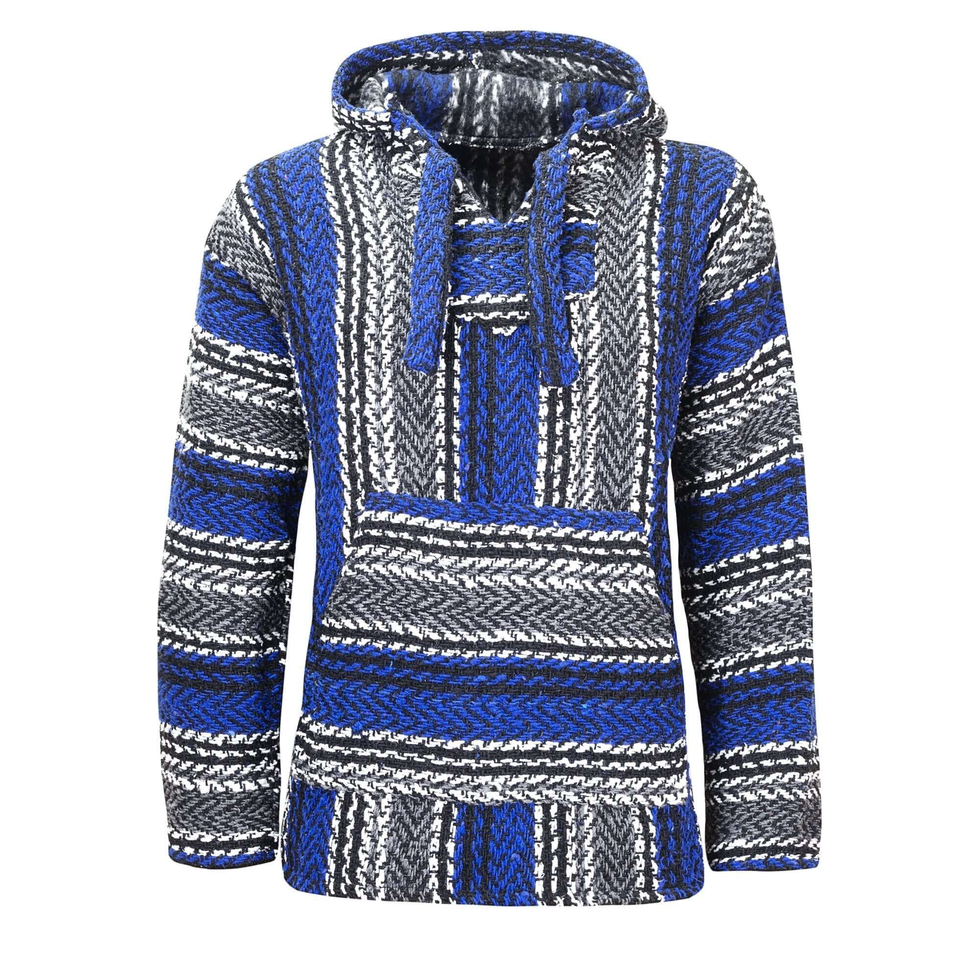 Blue Baja Hoodie Drug Rug | Mens & Womens | MADEINMEXI.CO
