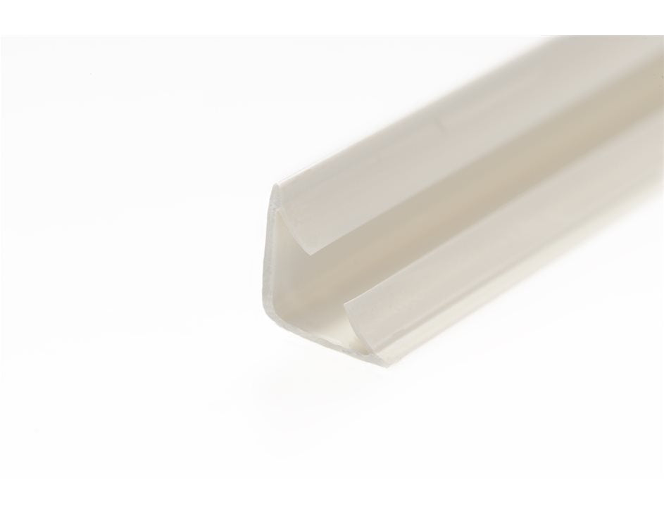 Lorient LAS1010 (10mm x 10mm) 2.1m Length - White