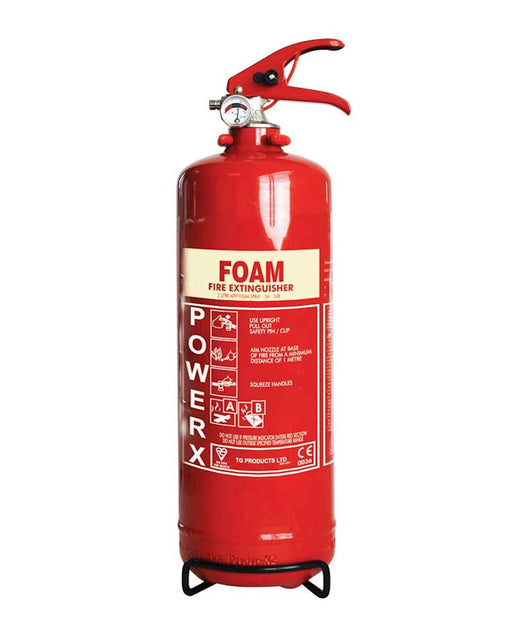PowerX 2lt Foam Fire Extinguisher
