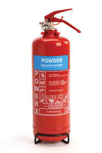 PowerX 2kg Dry Powder Fire Extinguisher