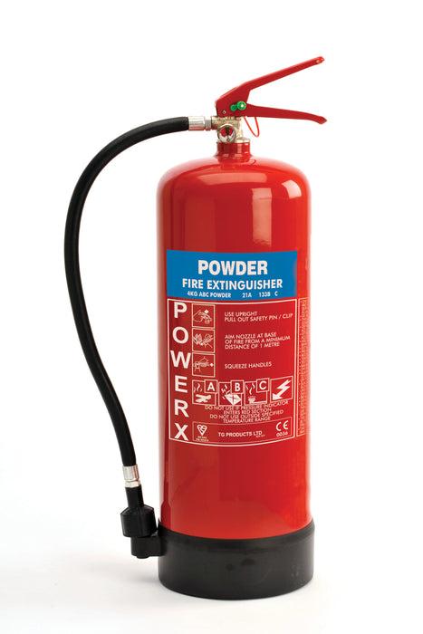 PowerX 4kg Dry Powder Fire Extinguisher