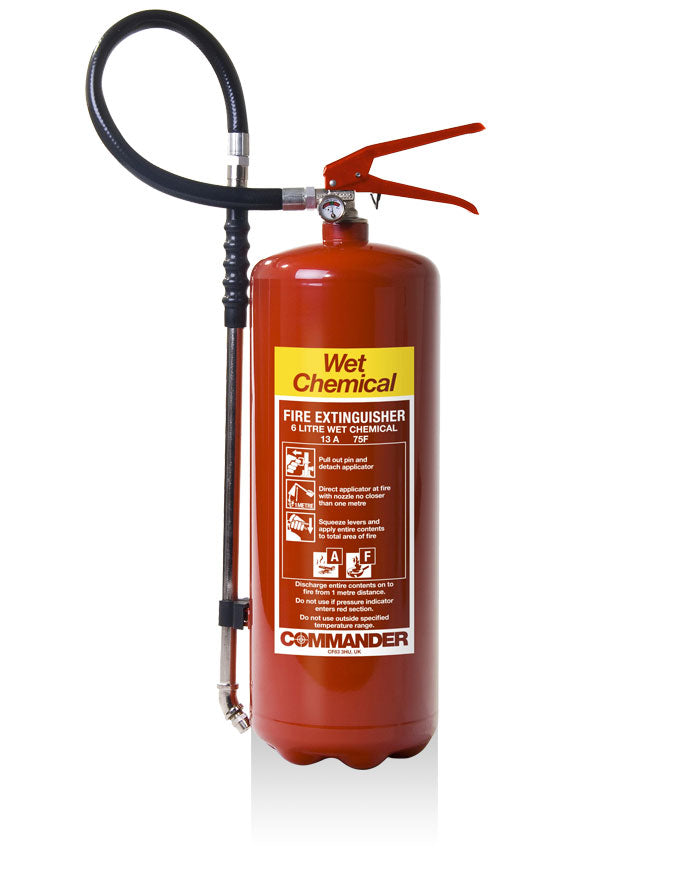 Sentinel 6lt Wet Chemical Fire Extinguisher
