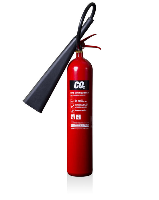 CommanderEdge 5kg CO2 Fire Extinguisher