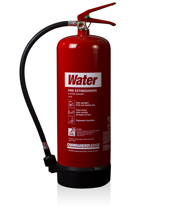 CommanderEdge 9lt Water Fire Extinguisher