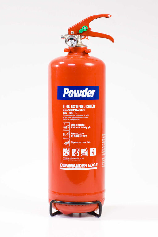 CommanderEdge 2kg Dry Powder Fire Extinguisher