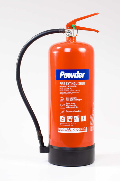 CommanderEdge 9kg Dry Powder Fire Extinguisher