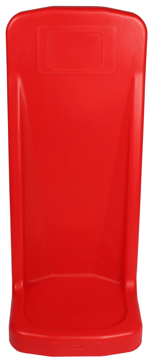 Single Plastic Stand - Rotationally Moulded - Red