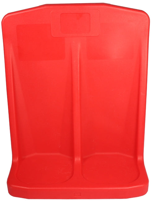 Double Plastic Stand - Rotationally Moulded - Red
