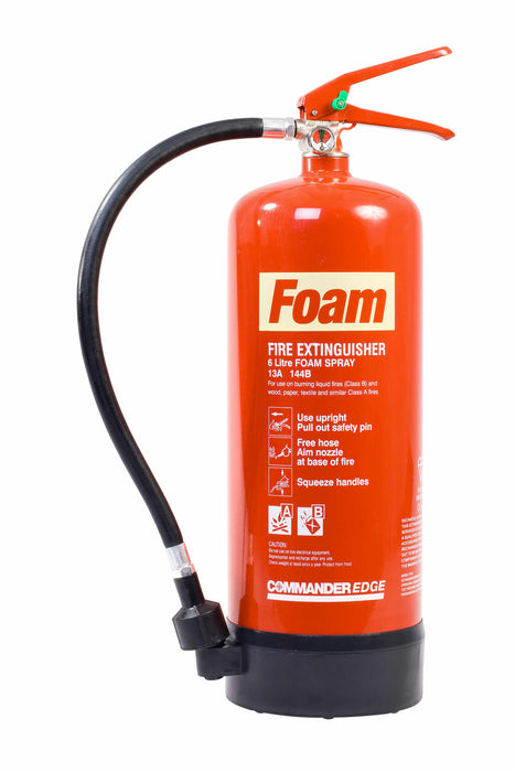 CommanderEdge 6lt Foam Fire Extinguisher