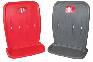 Jonesco Two-Part Double Plastic Stand - Red