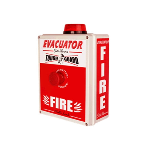 Evacuator Tough Guard Wireless Push Button Fire Alarm