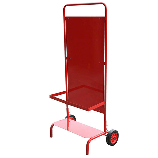Construction Site Stand With Wheels