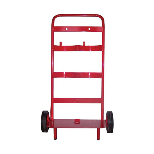 Double Extinguisher Trolley - With Bell