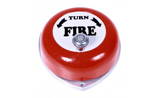 Rotary Alarm Bell - Red